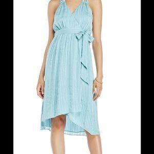 CALYPSO st.Barth silky midi wrap dress